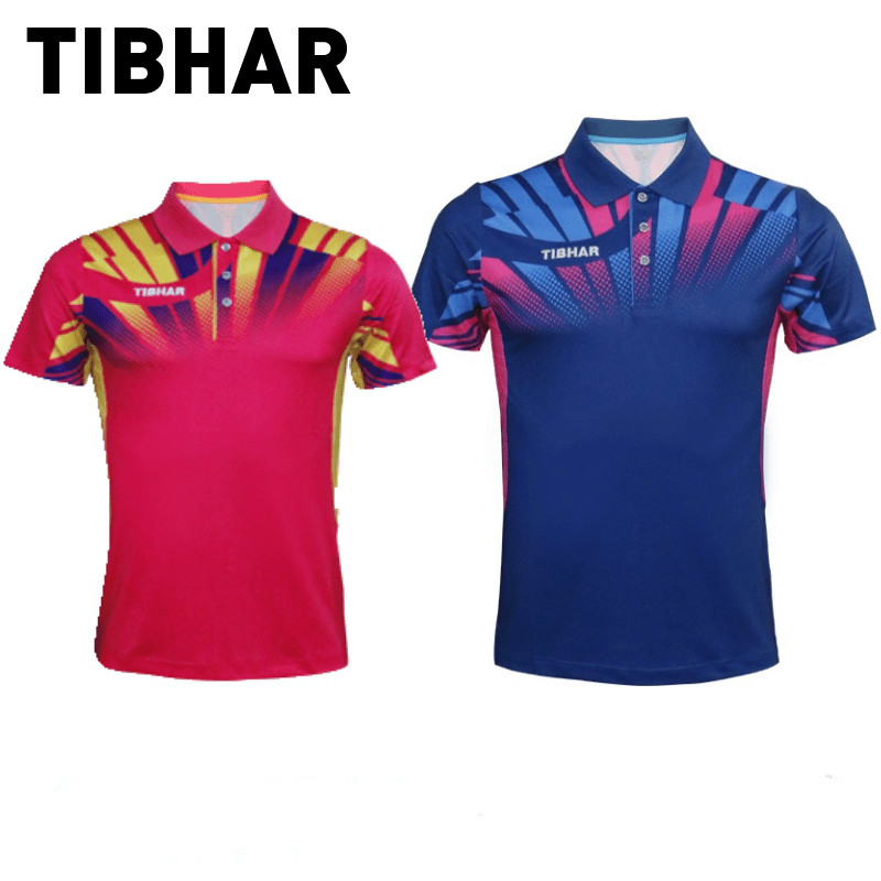 d2c7774d97 New TIBHAR Table Tennis Jerseys for Men Women Ping Pong Cloth Sportswear  Training T Shirts Group purchase breathable shirts-in Table Tennis Jerseys  from ...