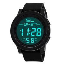 Relogio Masculino 2019 Fashion Military Sport LED Wristwatch Men Watch Complete Calendar Digital Mens Watches Clock