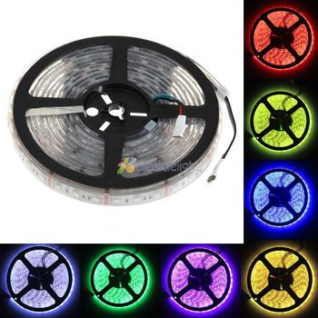 20M 4x 5M IP68 Underwater Waterproof 5050 SMD 60LED/M 300LEDs RGB Color Flexible LED Strip For swimming pool diy
