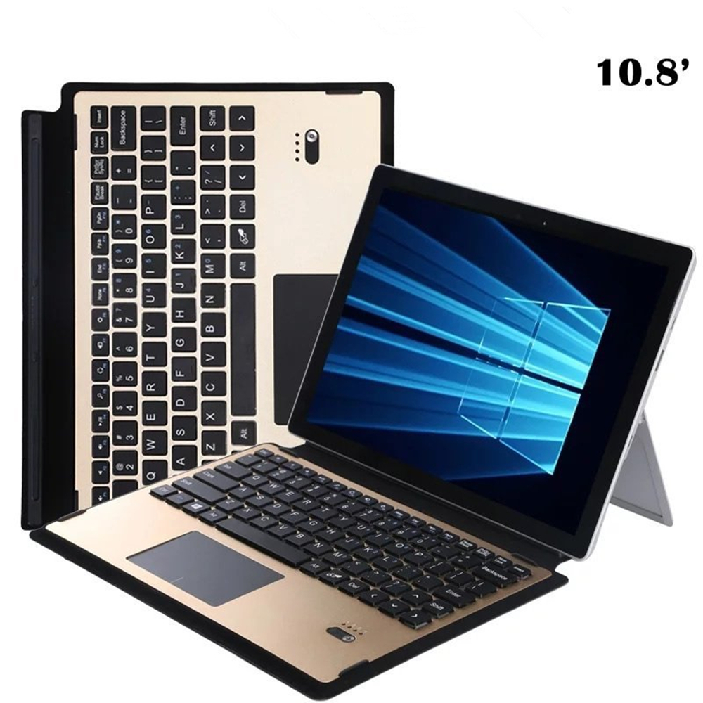 For Surface 3 Keyboard Wireless Bluetooth Keyboard Detachable Removable ABS Keyboard Case with Touch Pad for Microsoft Surface