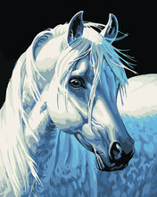 Unframed digital oil painting by numbers diy home decoration paint on canvas unique gift craft picture horse(China)