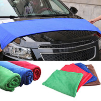 60 160cm Soft Microfiber Cleaning Towel Car Auto Wash Dry Clean Polish Cloth Kitchen Home Cleaning