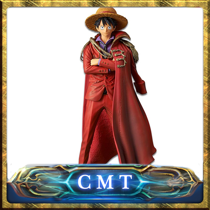 CMT INSTOCK Original Banpersto One Piece OP King Of Artist The Monkey D Luffy 20TH Limited Anime Figure PVC Toys Figure цена