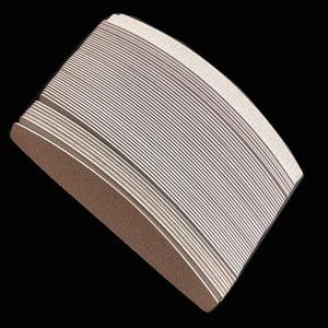 Image 3 - Tampons de remplacement zèbre amovible, 200 pièces, tampons de papier de verre jetables pour salon de coiffure, grain 100/180 /240