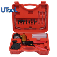 Brake Bleeder &Hand Held Vacuum Pump Kits Tester 2 in 1