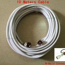 10 метров коаксиальный кабель 75ohm 75-5 с N разъемом для усилителя сигнала/ретранслятора/усилителя/антенны/разветвителя питания