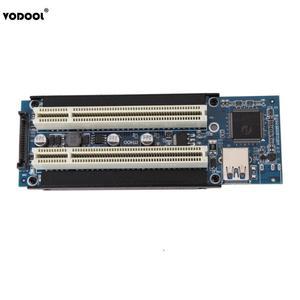 Image 2 - VODOOL PCI E אקספרס X1 כדי הכפול PCI Riser להאריך מתאם כרטיס עם 1M USB3.0 כבל עבור WIN2000/XP/Vista/Win7/Win8/לינוקס להוסיף כרטיס