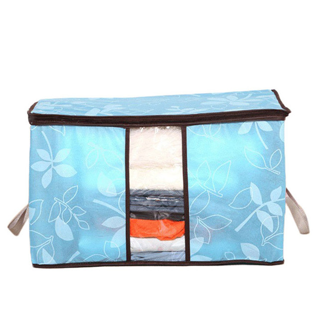 Storage Organization Bag for Clothes Blanket Quilt Home Organizers Storage Bag 5