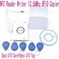 ACR122u NFC Reader Writer 13.56Mhz RFID Copier Duplicator + 5 pcs UID Cards +5pcs UID Tags+ SDK + M-ifare Copy Clone Software