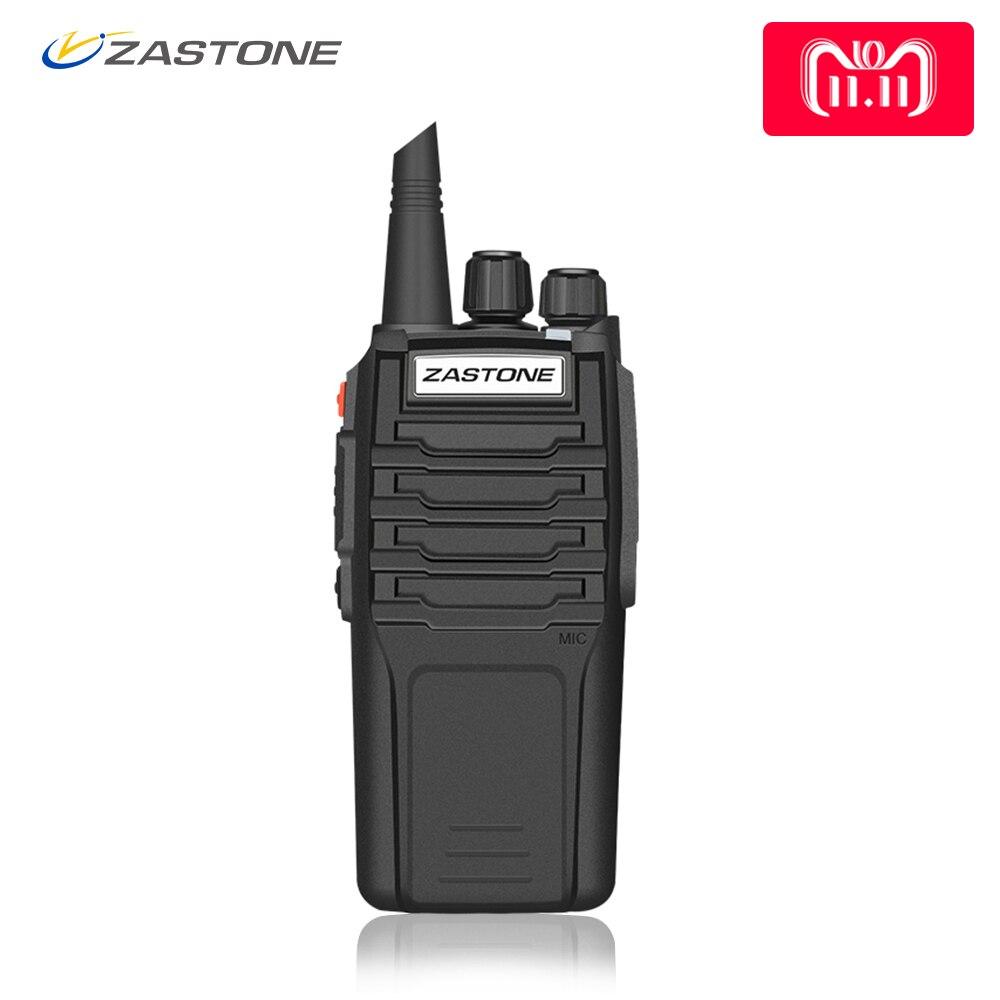 Zastone zt-A9 10 w Radio Walkie Talkie Two-Way Radio UHF/VHF Portatile CB Radio Attrezzature di Polizia di Prosciutto telsiz Comunicador