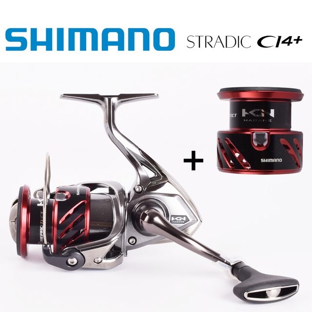 US $235 9 |2016NEW SHIMANO STRADIC CI4+ 1000 2500 C3000 4000 HAGANE GEAR X  SHIP MGL ROTOR SPINNING REEL Spare metal spool-in Fishing Reels from Sports