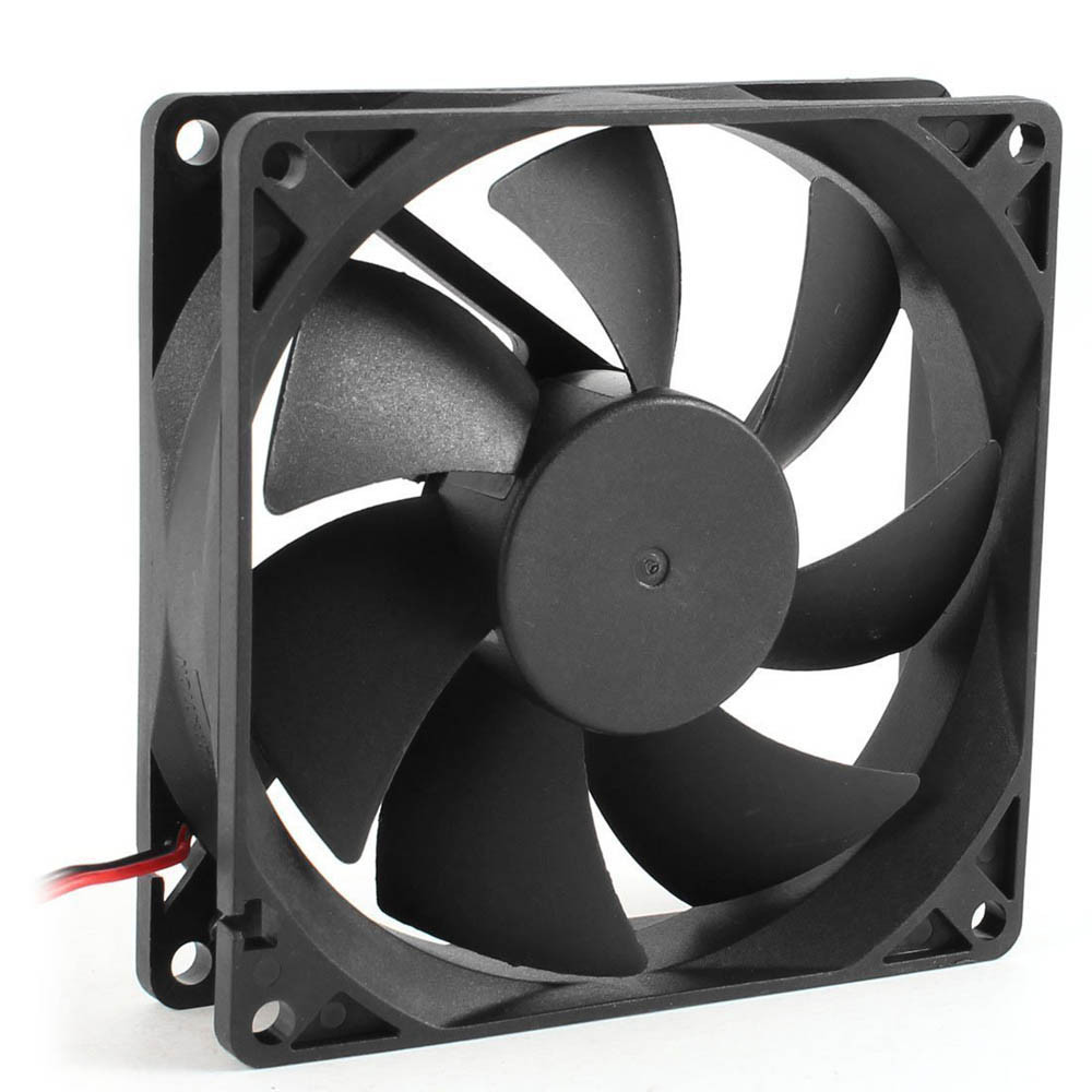 1 pc cpu cooler 80 mm fan 12V Computer/PC/CPU Silent Cooling Fan 2019 Quiet 80x70x25mm For Radiator Mod for video card #SYS