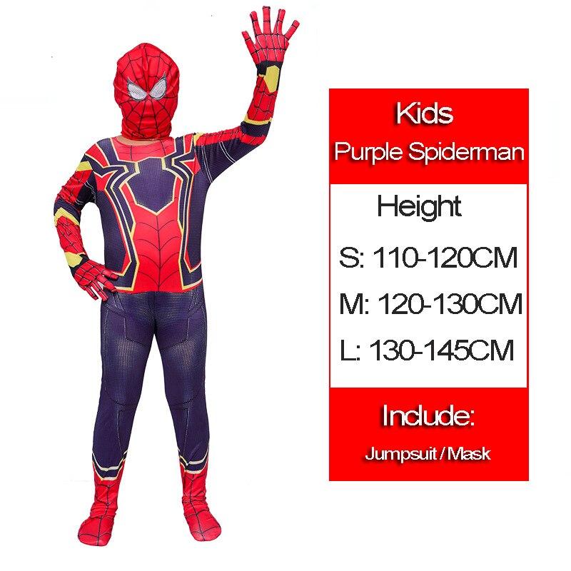 22 Purple spiderman