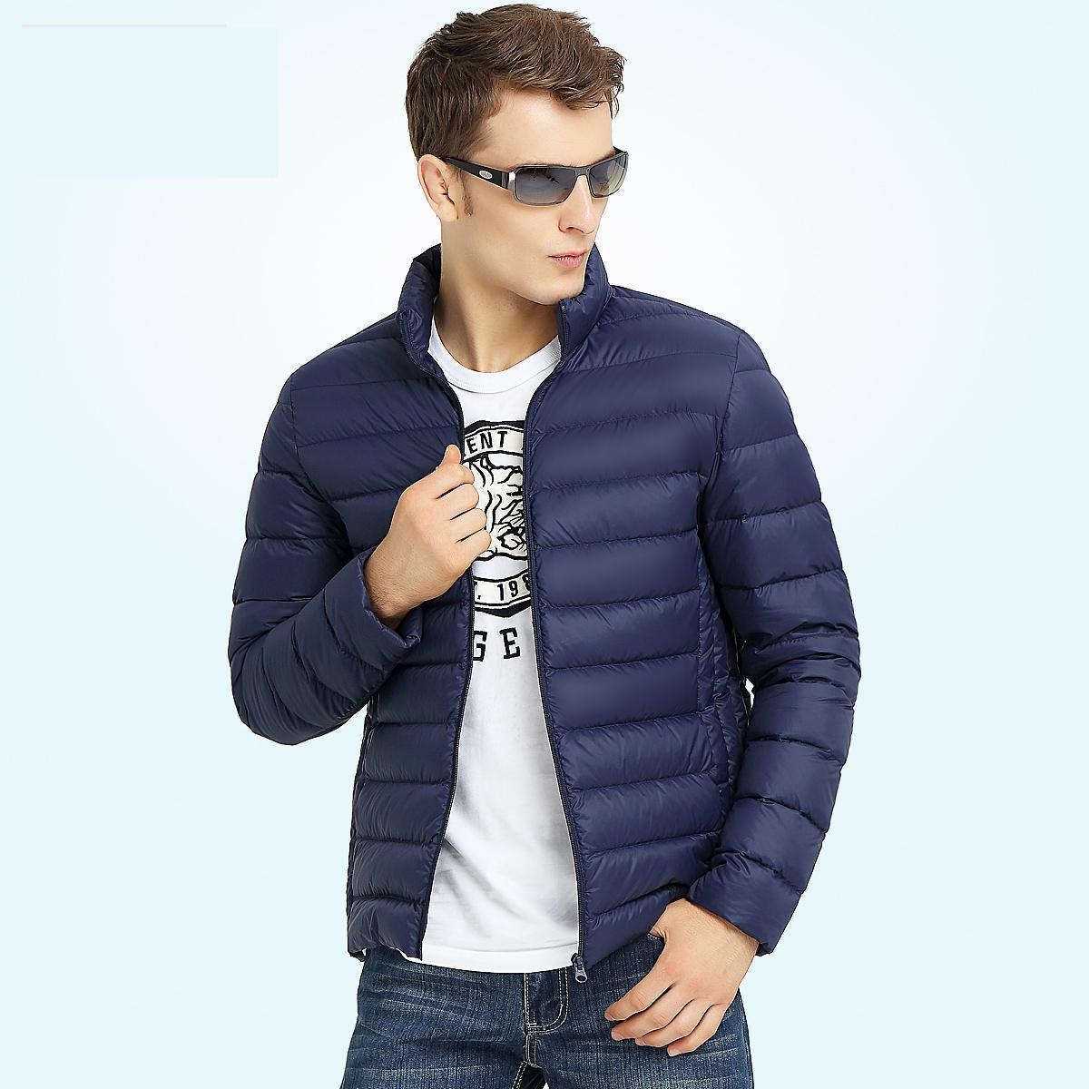 spring Male Cotton-padded Jacket Thickening Wadded Jacket Outerwear Autumn And Winter Short Design Men's Clothing