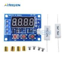 ZB2L3 Batteria Tester LED Digital Display 18650 Batteria Al Litio di Alimentazione di Prova di Resistenza di Piombo-acido Capacità di Scarico Meter