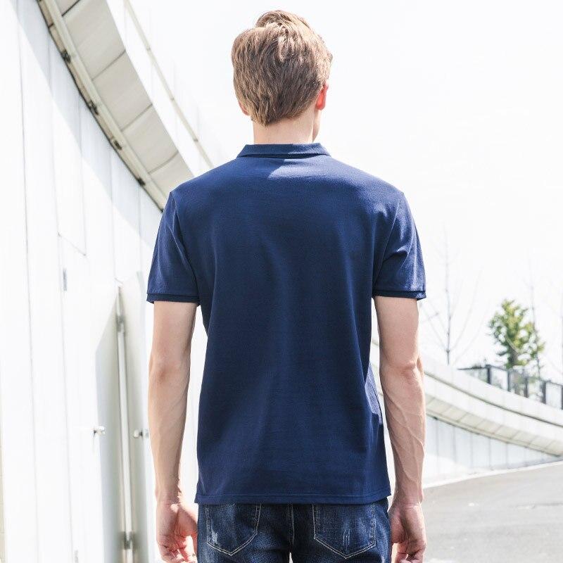 Pioneer Camp Neue Polo shirts männer marke kleidung fashion solid polos  männliche qualität 100% baumwolle casual sommer Polo männer ADP701166 in  Pioneer ... e077d73dc5
