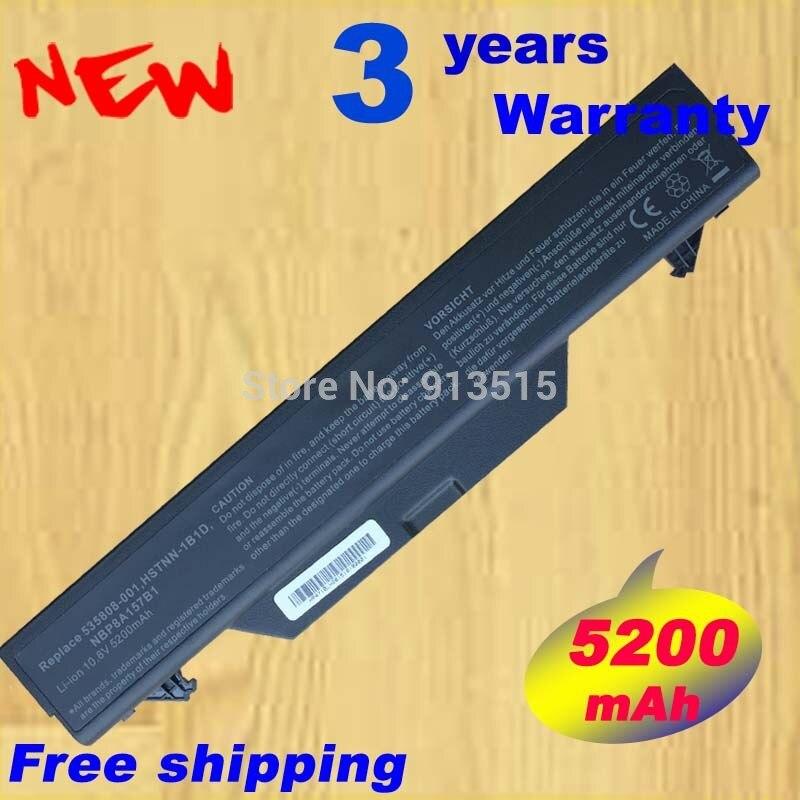 5200 mah Batterie POUR HP ProBook 4510 4510 s 4515 s 4710 s HSTNN-1B1D NBP8A157B1