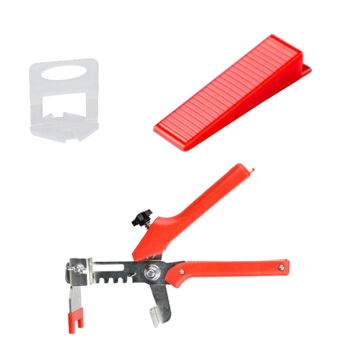 100Pcs 1/1.5/2/3mm Leveling  Wedges Tile Levelling Spacers Clips Flooring Tiling Tool For Raimondi System Floor Tile Kits Tools