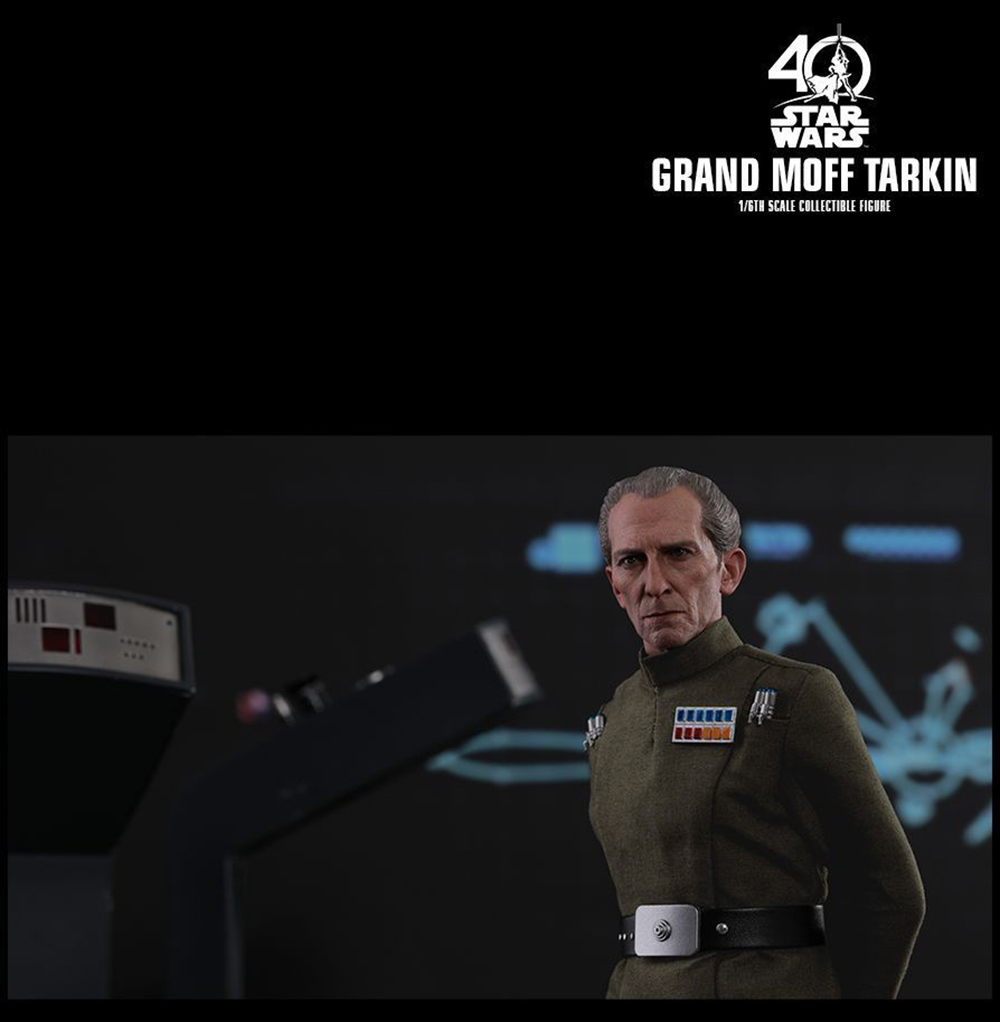 Full set Colletible 1/6 Scale Star Wars: Episode IV - A New Hope Grand Moff Tarkin Peter Cushing Figure Model Toys 8