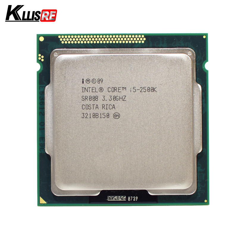 Intel i5 2500 К quad-core 3.3 ГГц LGA 1155 процессор tdp: 95 Вт 6 МБ Кэш с HD Графика i5-2500k Desktop Процессор