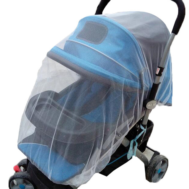 Baby Stroller Pushchair Mosquito Insect Shield Net Safe Infants Protection Mesh Stroller Accessories Mosquito Net 2017 3