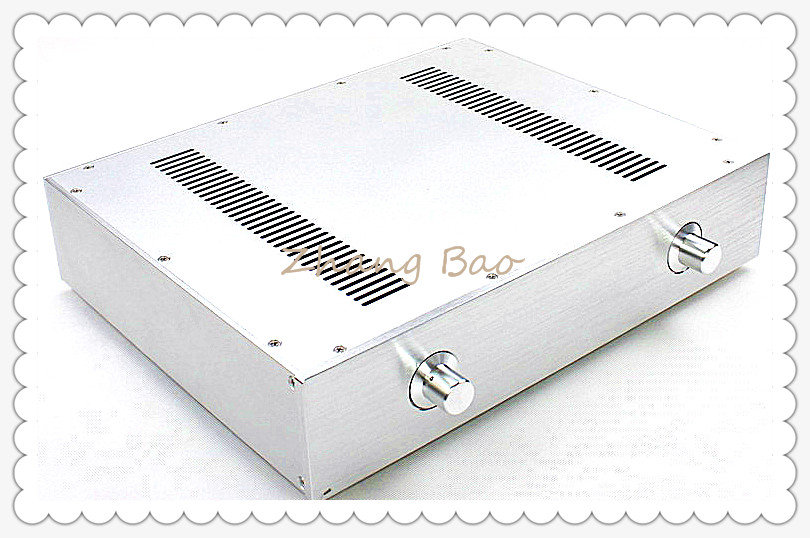 WA59 Amplifier Aluminum Chassis Enclosure Box Case Shell for Audio AMP freeshipping martin light jockey usb 1024 dmx 512 dj controller martin lightjockey 3 pin 1024 usb dmx controller led stage light