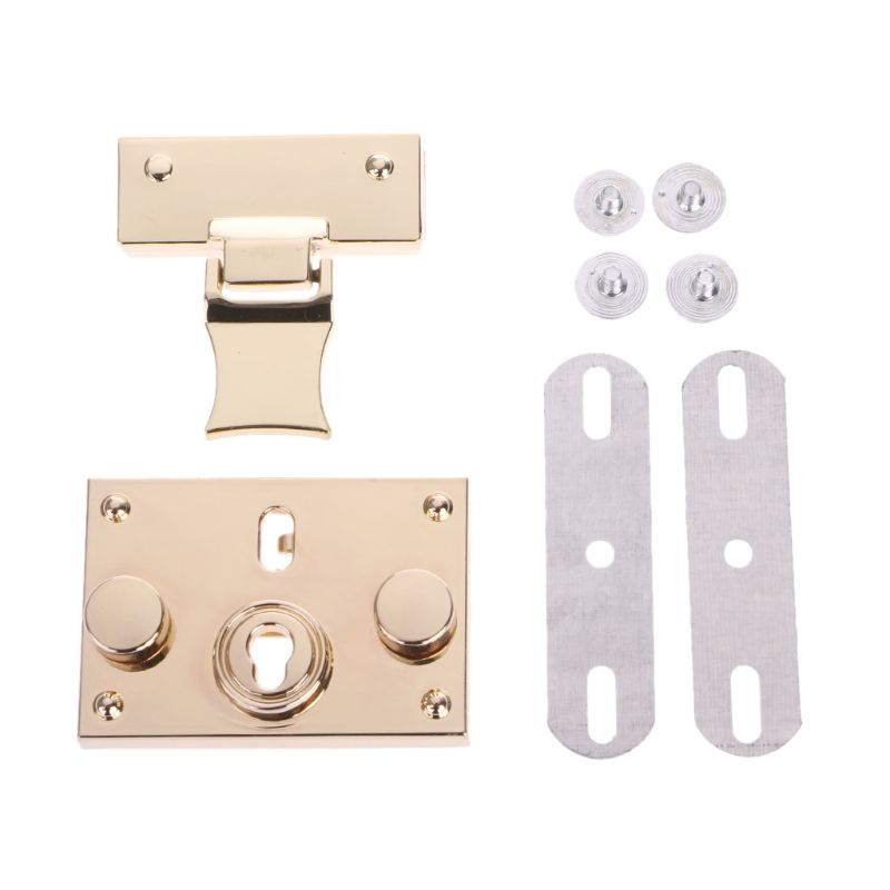 NoEnName_Null High Quality Hardware Purse Twist Lock Metal For Bag DIY Handbag Craft Turn Locks DIY Clasp