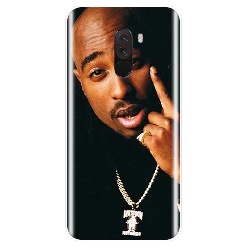 2Pac для телефона с изображением Тупака Амару Шакура Makaveli крышка чехол для телефона из ТПУ с принтом случай для redmi Примечание 4, 5, 6, 7, обратите внимание на 4X 5A 6 для redmi 4 4A 4X 5A 5 PLUS 6 S pro 7
