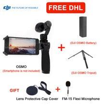 FM-15 OSMO Handheld 4 K Cámara Con DJI DJI phantom Micrófono y Estabilizador de Flexi Original 3 Cardán de $ Number Ejes Envío Libre