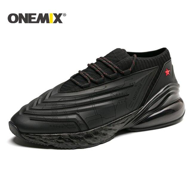 ONEMIX 2017 подушки тапки оригинальный zapatos de hombre мужской для бега, спорта на открытом воздухе обувь мужская обувь для бега размеры 39-46