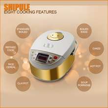 Large capicity electrical rice cooker steamer non-stick rice pot 5L 220V restaurant Cooking Machine keep warm