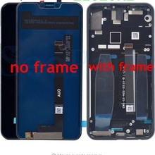 Оригинальный ЖК дисплей 6,2 дюйма 1080x2246 для LENOVO Z5, сенсорный экран с рамкой, сменный дигитайзер + инструменты для Lenovo Z5 L78011