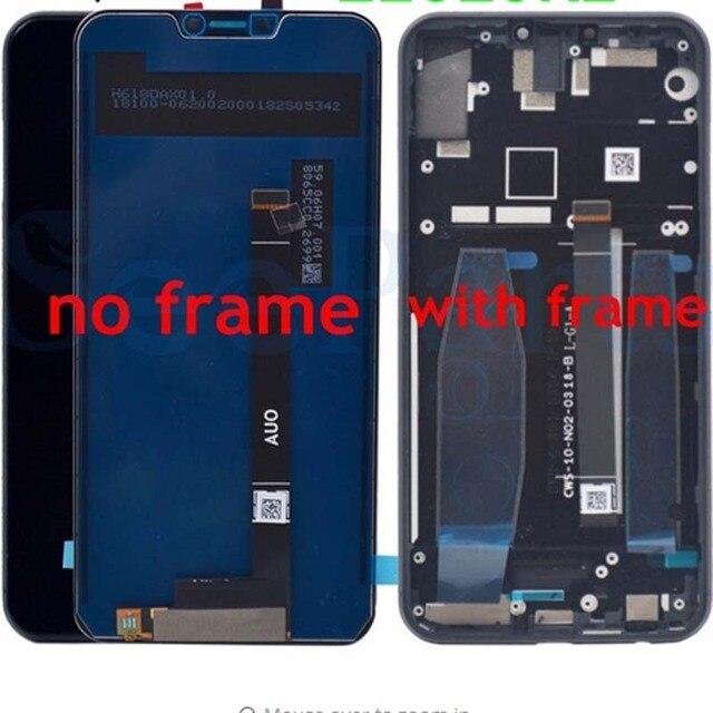 """6.2 """"1080x2246 orijinal LCD LENOVO Z5 ekran dokunmatik ekran çerçeve değiştirme için Lenovo Z5 L78011 LCD sayısallaştırıcı + araçları"""