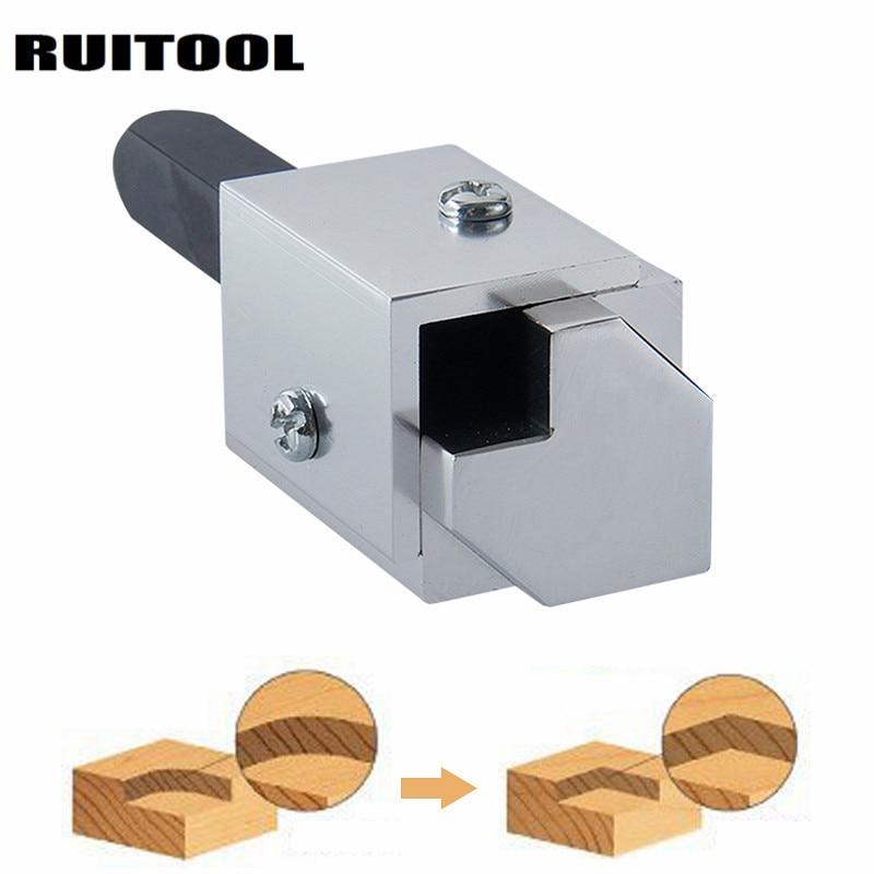 Cincel de madera de cincel de esquina de RUITOOL para herramientas de tallado de madera de bisagra cuadrada