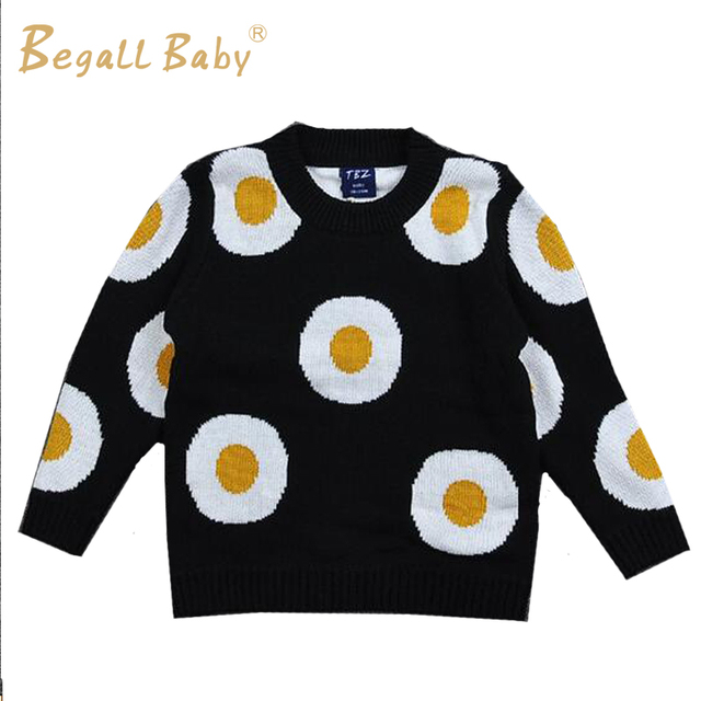 82fdc36b7 New Winter Thicken Boys Sweater Baby Girl Clothes Egg Design Child ...