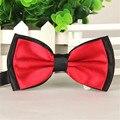 Coolbeener dec21 Casamento Tuxedo Ajustável Bowtie Bow Tie Gravata Dos Homens De Cetim