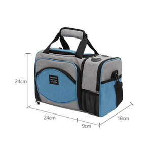 Image 2 - DENUONISS New 2020 Waterproof Picnic Bag Insulated Portable Fabric Thermal Cooler Bag Large Volume Storage Male Beer Wine Bag