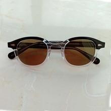 Top quality Johnny Depp Sunglasses Men Women Polarized Sun glasses Acetate Eyewear frame Driving Shades Brand Designer Z083-2 цена и фото
