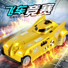Hot Sale New Remote Control RC Car 4CH Wall Climber Zero Gravity Racing Car Lucky Boy Ultra-cool Auto Stable Stunt Free Shipping