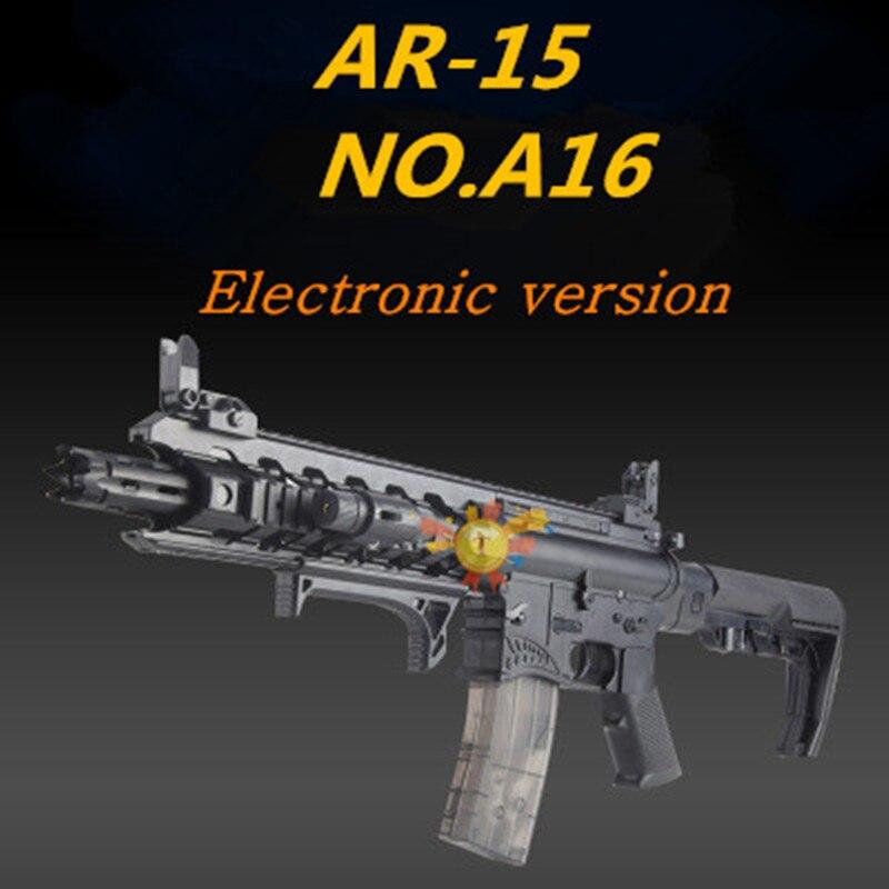 AR15 Requin Bouche Sous La Fourniture pistolet à eau M4 Électrique pistolet à eau Enfants pistolet jouet de Garçon CS jouet fusil
