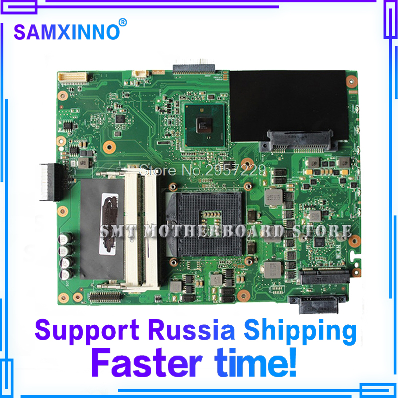 new original K52F Motherboard For ASUS X52F A52F P52F Laptop Motherboard REV:2.2 HM55 PGA989 DDR3 mainboard 100% working S-6