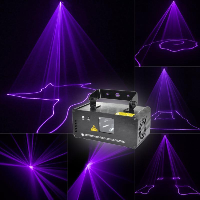 High Quality Remote DM-V150 Laser Stage Lighting Scanner DJ Projector Party DMX Stage Light with US plug high quality southern laser cast line instrument marking device 4lines ml313 the laser level