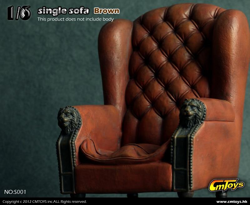 ФОТО 1:6 scale  Single Sofa for 12inch dolls Scene Props Doll accessories