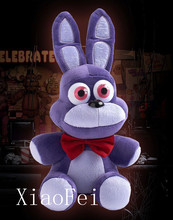 18cm FNAF Five 5 Nights at Freddy s BONNIE Plush Doll Brinquedos Toy Soft Gift Christmas