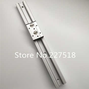 1pcs Double axis roller linear guide SGR20 L600mm +1pcs SGB20-4UU block multi axis core linear Motion slide rail auminum guide - DISCOUNT ITEM  0% OFF All Category