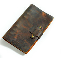 Passio Handmade Refillable Leather Travelers Journals Diary Genuine Leather Notebook Diary Notepad Notebook Handmade A5