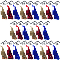 8 Sets Mirror Surface Guitar Pickguard For Electric Guitar Replacement