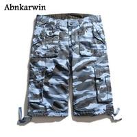 SANZOOG Short Man 2017 Fashion Men S Multi Pockets Camouflage Short Brand Men Cargo Shorts Homme