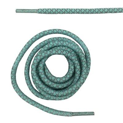 """Круглая веревка 3м Светоотражающие шнурки для ботинок бегуна видимые безопасные шнурки 14 цветов 4"""" /120 см - Цвет: baby blue"""