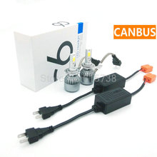 72W 7600LM H7 CANBUS LED Headlight Kit Auto Front Light car Fog lamp LED Automotive Headlamp H8/H9/H11 HB3 9005 HB4 9006 h1 h3